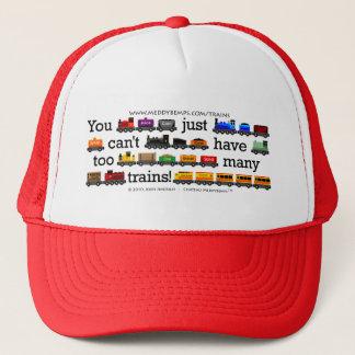 Too Many Trains Trucker Hat