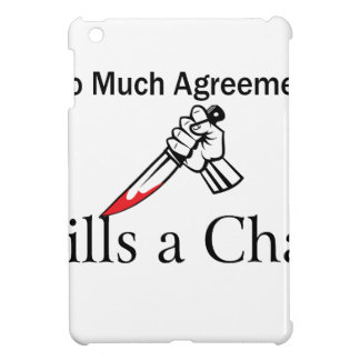 Too Much Agreement Kills a Chat Case For The iPad Mini