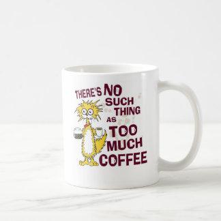 Too much Coffee Coffee Mug
