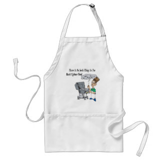 Too much lighter fluid standard apron