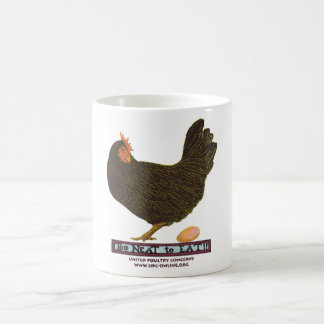 Too Neat To Eat! - Hen Classic White Coffee Mug