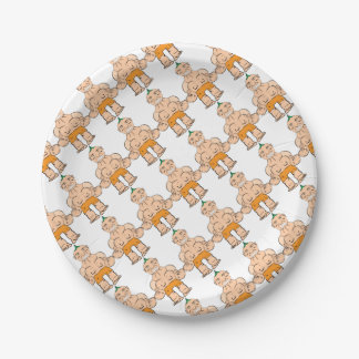 Too nervous paper plate