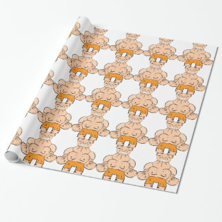 Too nervous wrapping paper