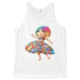 Too Too Yummy Magical Candy Girl Tank
