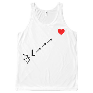 """""""Took an L to the Heart"""" Unisex Tank Top"""