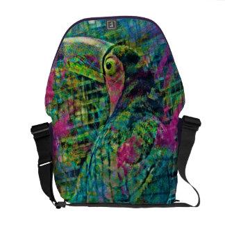 Tookan Camun big bird in Costa Rica Messenger Bags