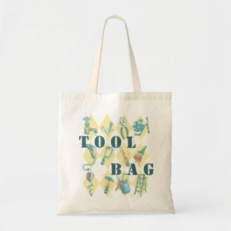 Tool Tote Bag Tools for the Tasks Handyman Totes