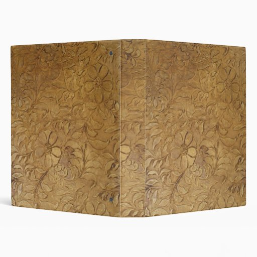 Tooled-Leather binder