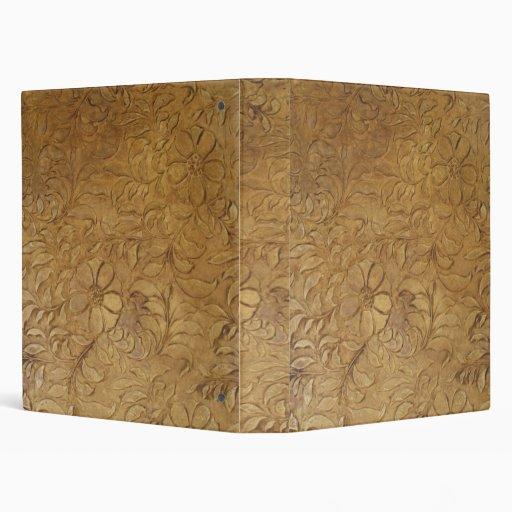 Tooled-Leather binder