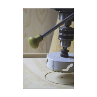 Tools - Drill Press on Stretched Canvas