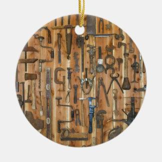 Tools of the Trade Ceramic Ornament