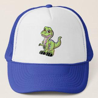 Toon rex hat green