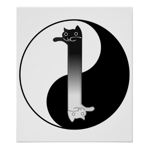 Toon Tao of Longcat Print