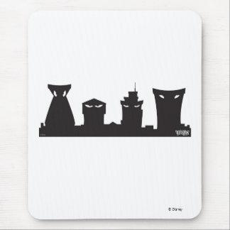 Toontown Cogs skyline Disney Mouse Pad