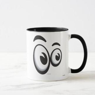 Toontown Large Eyes Logo Disney Mug