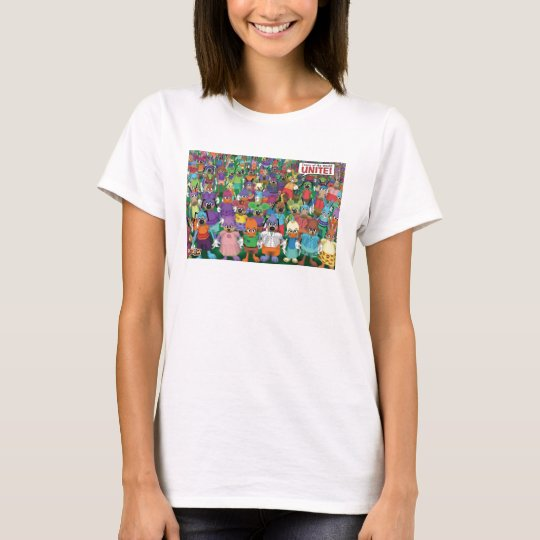 Toontown toons unite Disney T-Shirt