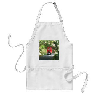 Toot Toot the Red train is coming Toot Toot Standard Apron