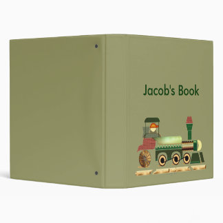 Toot Toot Train Binder