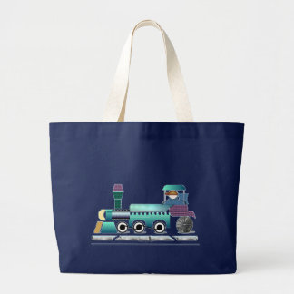 Toot Toot Train Large Tote Bag