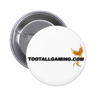 Tootallgaming.com Pinback Button
