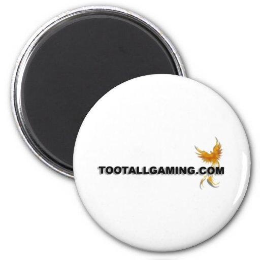 Tootallgaming.com Refrigerator Magnets