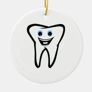 Tooth Ceramic Ornament