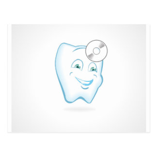 Tooth Dentist Postcard