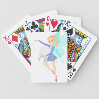 Tooth Fairy Bicycle Playing Cards