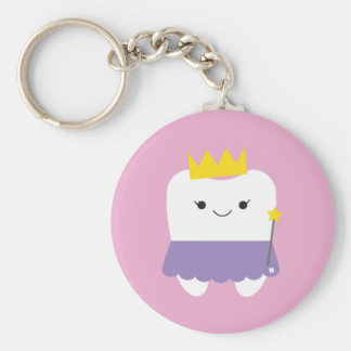 Tooth Fairy Button Keychain