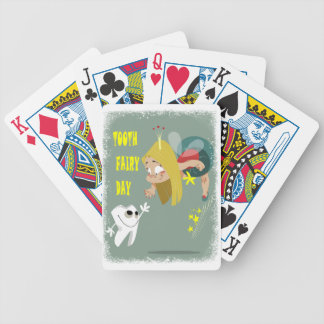 Tooth Fairy Day - Appreciation Day Bicycle Playing Cards