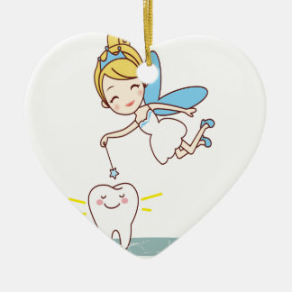 Tooth Fairy Day - Appreciation Day Ceramic Ornament