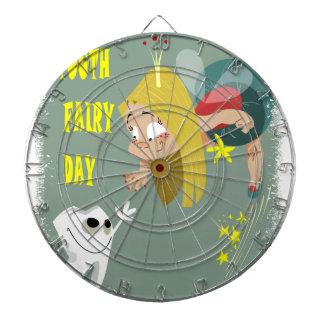 Tooth Fairy Day - Appreciation Day Dartboard