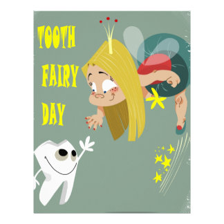 Tooth Fairy Day - Appreciation Day Letterhead