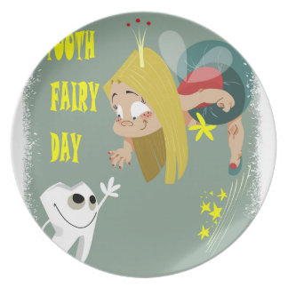 Tooth Fairy Day - Appreciation Day Plates
