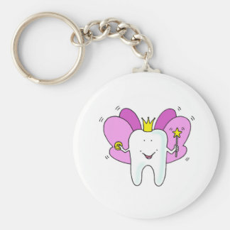 Tooth fairy princess congratulations. keychain