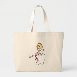 Tooth Fairy Sits On A Tooth Bag