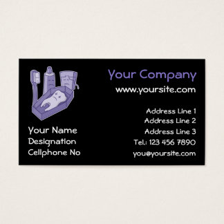 Tooth Funeral Business Card
