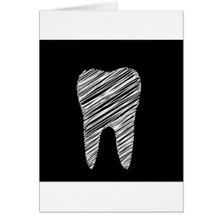 Tooth graphic for dentist card