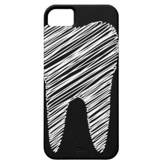 Tooth graphic for dentist iPhone 5 cover