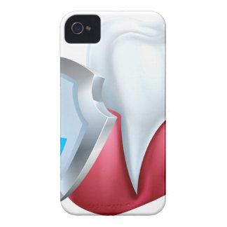 Tooth Gum Shield Concept iPhone 4 Case-Mate Case