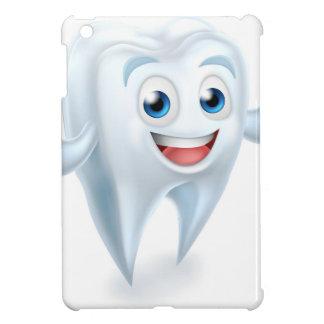Tooth Mascot Character iPad Mini Covers