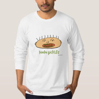 tooth pickles, American Apparel long sleeve tee