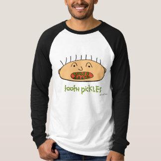 tooth pickles, raglan tshirt