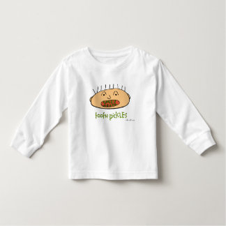 tooth pickles, toddler long sleeve tee