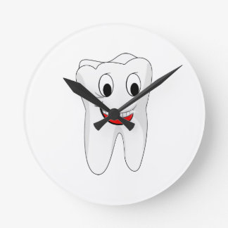 Tooth Round Clock