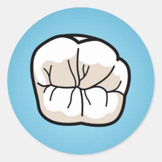 Tooth Sticker [Blue]
