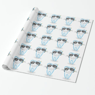 tooth wrapping paper