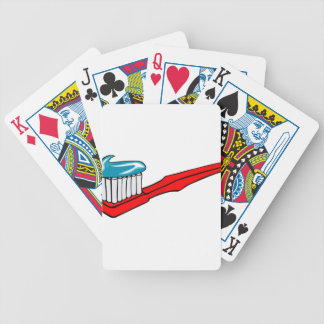 Toothbrush and Toothpaste Bicycle Playing Cards