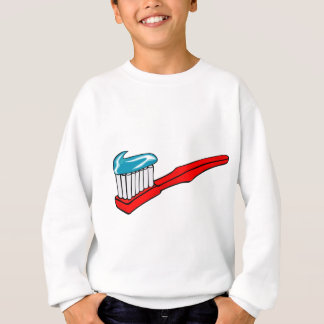 Toothbrush and Toothpaste Sweatshirt