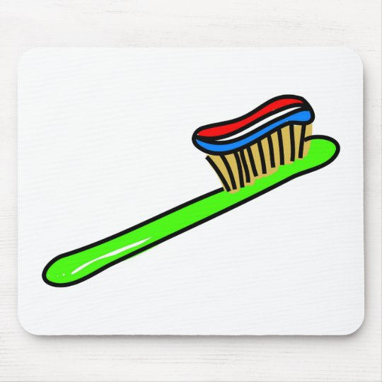 Toothbrush Mouse Pad